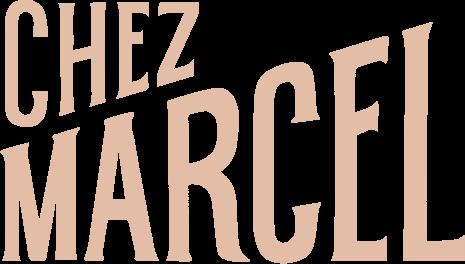 Notre logo : Chez Marcel.