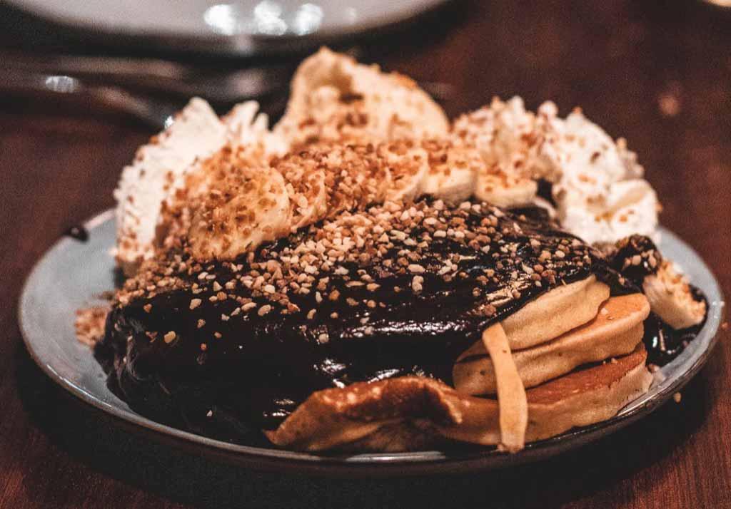 Des pancakes de notre restaurant Chez Marcel à Tarbes.